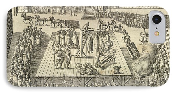 Gunpowder Plotters Executed IPhone Case by British Library