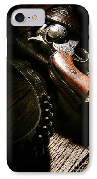 Gunslinger Tool IPhone Case by Olivier Le Queinec