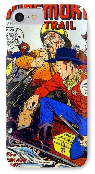 Gunsmoke Trail IPhone Case by Tom DiFrancesca