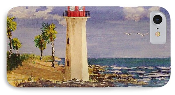 Guardian Of The Coast IPhone Case by Mike Caitham
