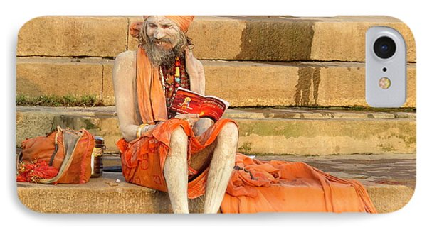 Guru On Ganges IPhone Case