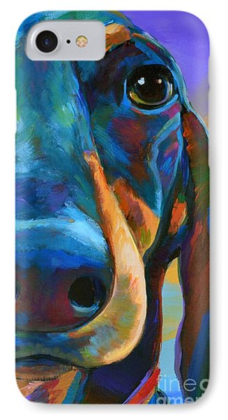 IPhone Case featuring the painting Gus by Robert Phelps