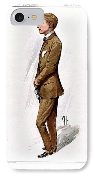 Gustav Hamel IPhone Case by British Library