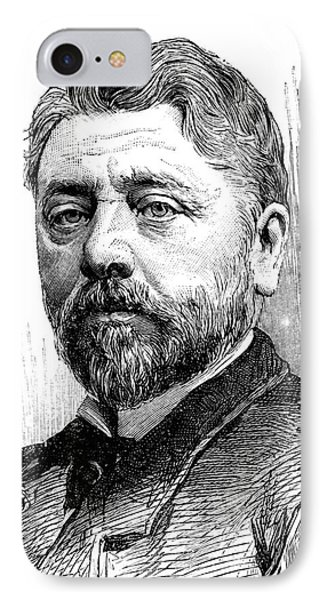 Gustave Eiffel IPhone Case by Collection Abecasis
