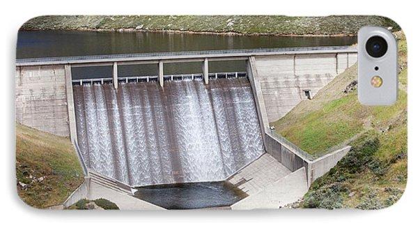 Guthega Dam IPhone Case by Ashley Cooper