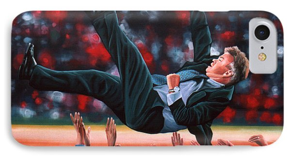 Guus Hiddink IPhone Case by Paul Meijering