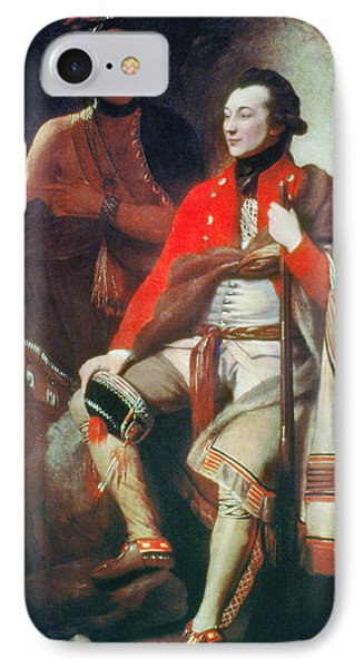 Guy Johnson (c1740-1788) IPhone Case by Granger