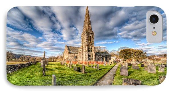Gwyddelwern Church Phone Case by Adrian Evans