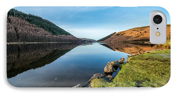 Gwydyr Forest Lake IPhone Case by Adrian Evans