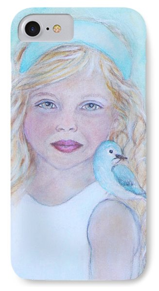 Gwyneth Little Earth Angel Of Happiness Phone Case by The Art With A Heart By Charlotte Phillips