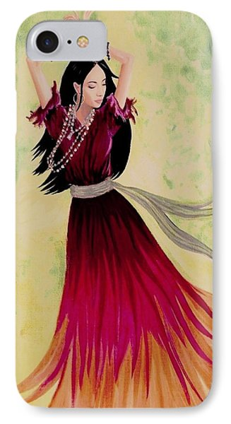 Gypsy Dancer IPhone Case by Sophia Schmierer