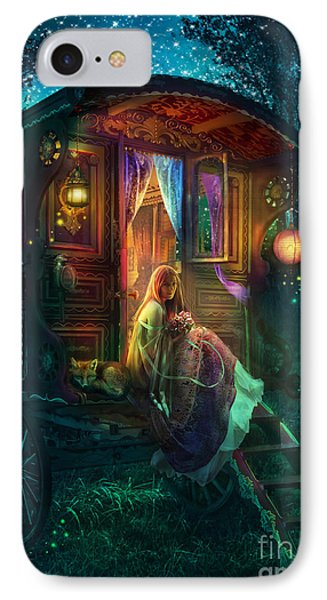 Gypsy Firefly IPhone Case by Aimee Stewart