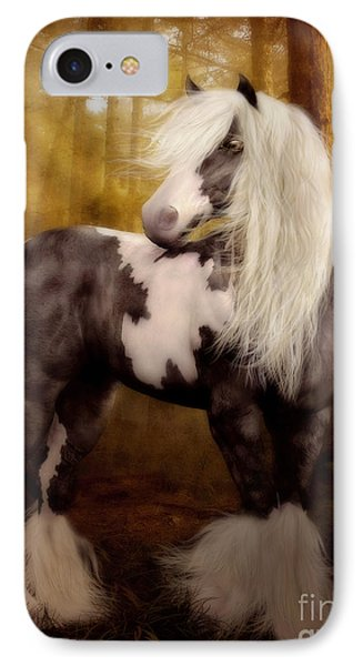 Gypsy Gold Equine Art IPhone Case by Shanina Conway
