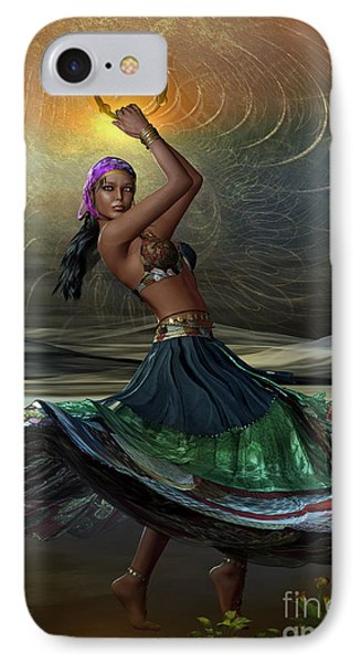 IPhone Case featuring the digital art Gypsy by Shadowlea Is