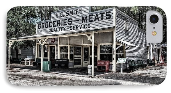 H C Smith's Groceries Heritage Village IPhone Case by Michael White