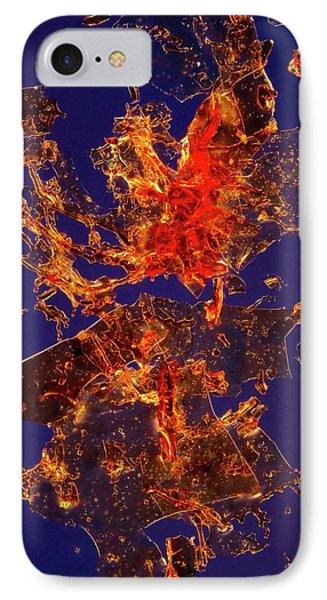 Haemoglobin Crystals IPhone Case by Antonio Romero
