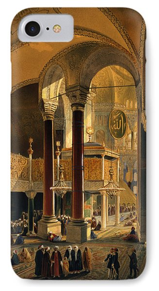 Haghia Sophia, Plate 8 The Imperial Phone Case by Gaspard Fossati