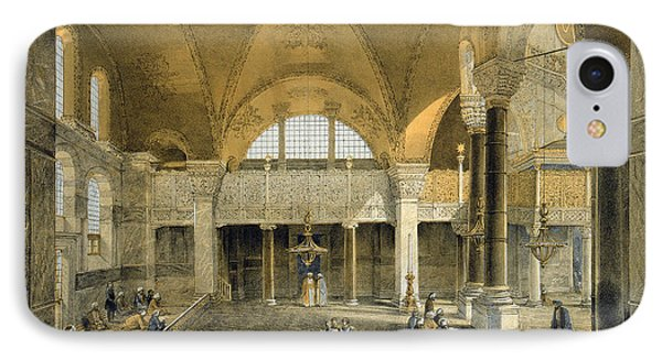 Haghia Sophia, Plate 9 The New Imperial Phone Case by Gaspard Fossati