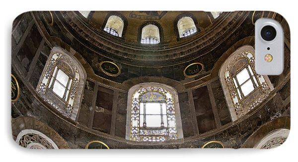 Hagia Sofia Interior 06 IPhone Case by Antony McAulay