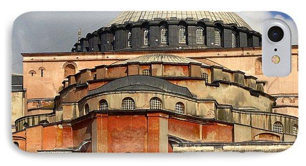 Hagia Sophia Ayasofya Meydani Byzantine Basilica Later Imperial Mosque Istanbul Turkey Phone Case by Ralph A  Ledergerber-Photography