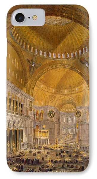 Hagia Sophia, Constantinople, 1852 IPhone Case