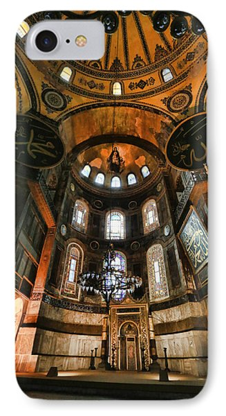 Hagia Sophia Interior IPhone Case by Stephen Stookey