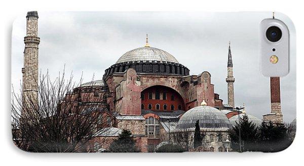 Hagia Sophia Phone Case by John Rizzuto