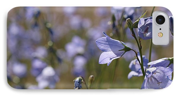 IPhone Case featuring the photograph Harebells by Jenessa Rahn