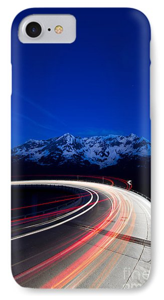 Hairpin Turn IPhone Case