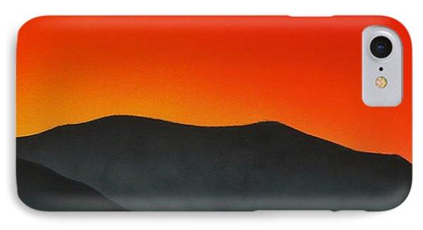 Hakarimata Sunset IPhone Case