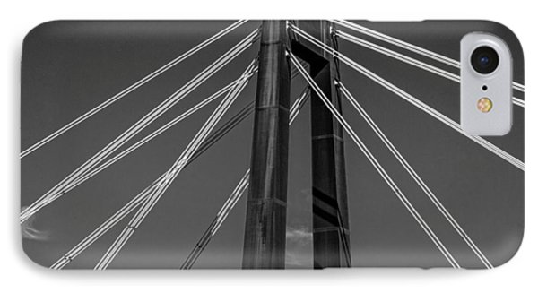 Hale Boggs Memorial Bridge Phone Case by Andy Crawford