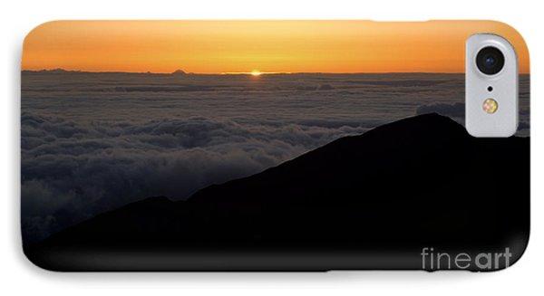 Haleakala Sunrise Phone Case by Benjamin Reed