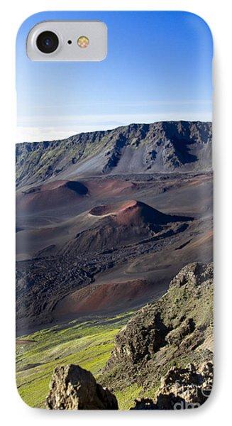 Haleakala Sunrise On The Summit Maui Hawaii - Kalahaku Overlook Phone Case by Sharon Mau