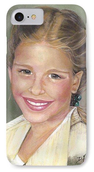 Haley  Phone Case by Diane Strain