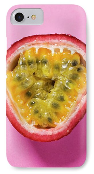 Half A Purple Granadilla (passion Fruit) IPhone Case