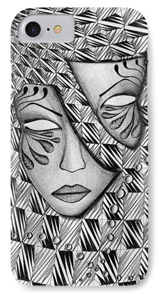 Half Phone Case by Anca S