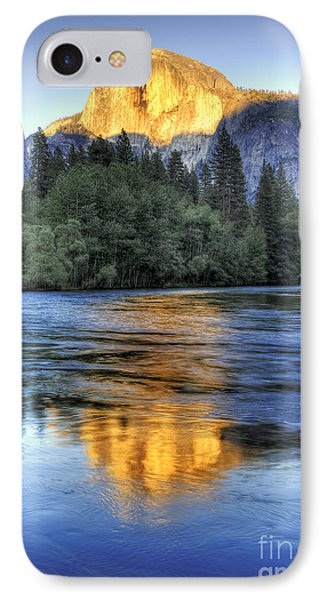 Half Dome At Sunset IPhone Case
