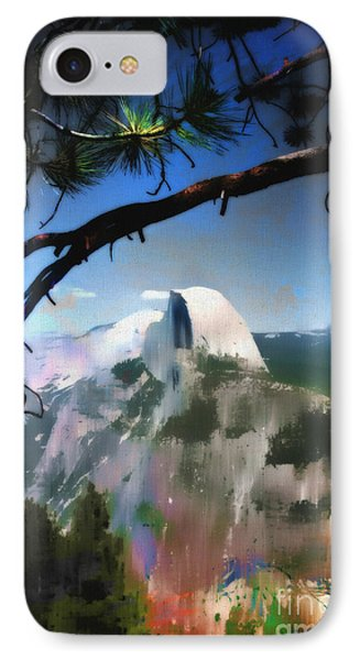 Half Dome Phone Case by Barbara D Richards