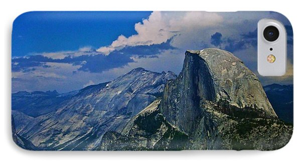 Half Dome From Glacier Point Phone Case by Eric Tressler