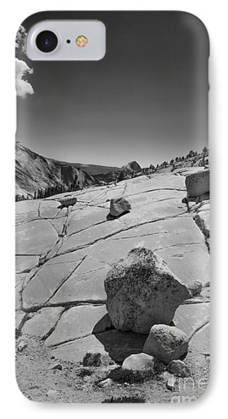Half Dome From Olmsted Point IPhone Case by Terry Garvin