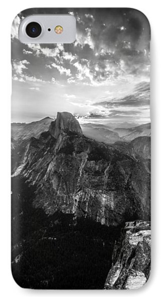 Half Dome In Black And White IPhone Case