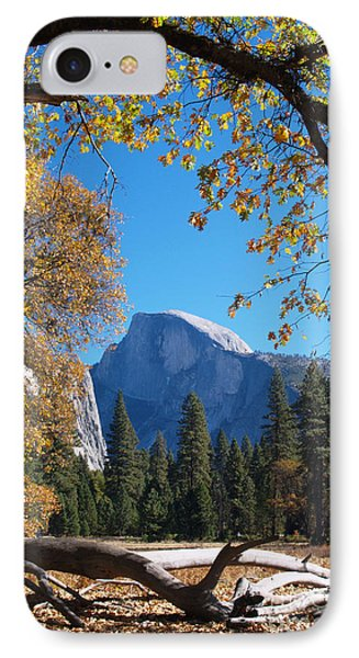 Half Dome In Yosemite Phone Case by Alex Cassels