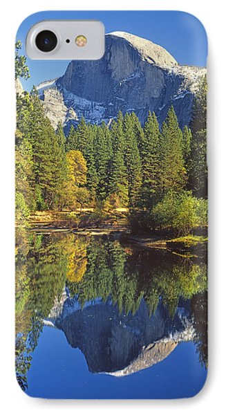 2m6709-half Dome Reflect - V IPhone Case