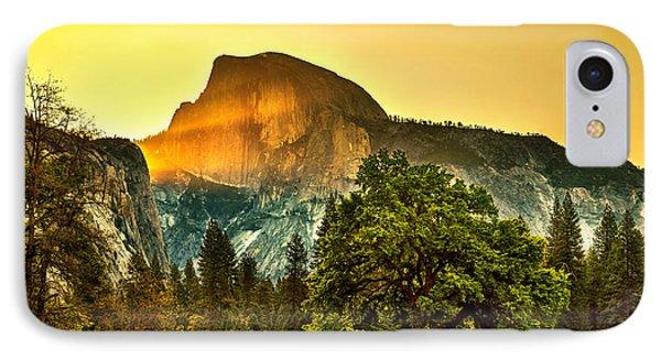 Yosemite National Park iPhone 7 Case - Half Dome Sunrise by Az Jackson