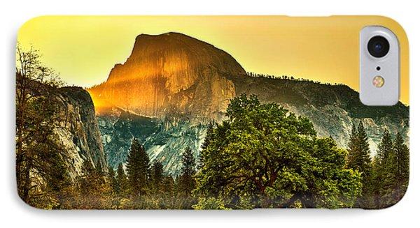 Half Dome Sunrise IPhone 7 Case by Az Jackson
