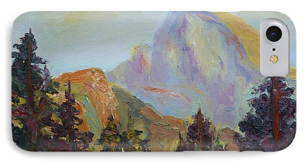Half Dome View Phone Case by Carolyn Jarvis