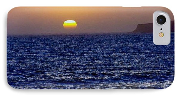 Half Moon Bay IPhone Case by Christine Drake