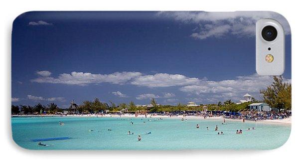 Half Moon Cay Cove IPhone Case by Jack Nevitt