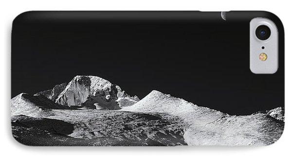 Half Moon Over Longs Peak IPhone Case