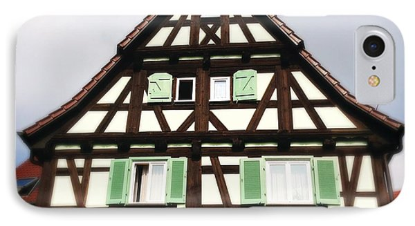 Half-timbered House 01 IPhone Case by Matthias Hauser